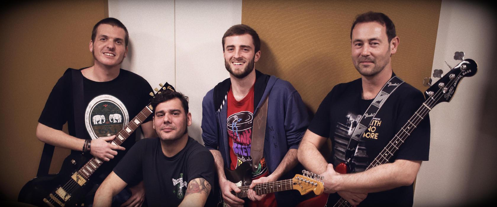 Répétition groupe de musique